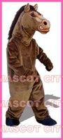 athletic fit suits - Fierce Stallion Mascot Costume Adult Size Halloween Festival Party Theme Mascotte Outfit Fit Suit Fancy Dress EMS
