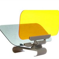 Wholesale 1PCS Brand New Car Sun Block For Driver Day And Night Anti dazzle Mirror Automobile Sun shading Block