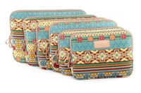Wholesale Bohemian Style Canvas Laptop Sleeve Case Bag Protect Pouch for inch Laptop Computer MacBook Air Samsung HP Lenovo Notebook
