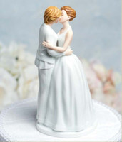 Wholesale Wedding Cake Decoration quot Romance quot Gay Lesbian Wedding Cake Topper cake doll