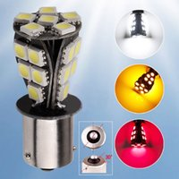 Wholesale 4Pcs X BAU15S SMD CANBUS OBC No Error Signal Car LED Bulb Light Colors