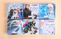Wholesale Child frozen notebook anna elsa princess cartoon cover Memo Pad kids new term gifts school supplies