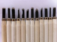 Wholesale New Wood Carving Hand Chisel Tool Set High Quality New Woodworking Professional Gouges