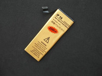 Wholesale UPS DHL Free High Capacity mah Gold Replacement Li ion Battery for iPhone S Gold Battery for iphone S C