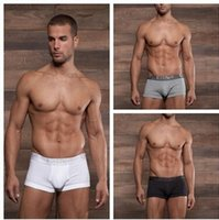 basic c - 2015 C IN2 brand High quality low waist mens basic boxer cotton male u convex bag underwear ring design prison style Gay proud
