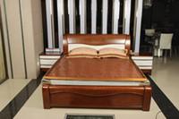 Wholesale Retro Bamboo Bed Mat Carbide Bordue Cushion Bamboo Mattress Pad Manual Mahjong Mat Cool Refreshing Protectors Mat for Sale LX1528