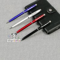 ballpoint pen manufacturing - Good stationery Stationary on the pen cap shape ballpoint pen metal manufacturing process laser print logo office supplies