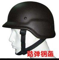 bullets - 100 Bullet Proof Outdoor Tactical Helmet M88 CS Equipment Pure Steel Helmet Army Fans Supplies
