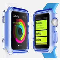 apples rubber watch - 38mm mm Ultra Thin Slim Transparent Clear Soft TPU Rubber Silicone Cover Case Skin For Apple Watch Iwatch MOQ