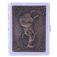 Wholesale Beautifully vintage cigarette case Waterproof cigarette case Easy to carry cigarette
