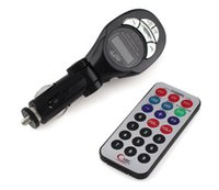 mp3 car player - CAR FM TRANSMITTER FOR CAR MP3 Player FM Transmitter with Control for USB SD MMC Slot