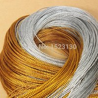 Wholesale 100 Yards mm Metallic Thread String Jewelry Craft Cord Making Beading Necklace