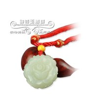 Wholesale Natural oily Xinjiang and nephrite pendant roses