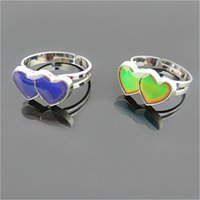 mood rings - Mood Ring changes color to your temperature reveal your inner emotion