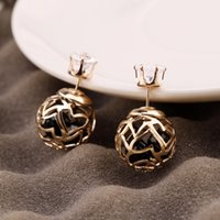 beautiful black females - 2016 new fashion jewelry Earrings wild female Korean fashion lady elegant party reception accessories beautiful Christmas gift earrings