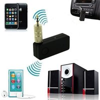 Wholesale Hot Sell Car Bluetooth V3 Hands Free Transmitter Stereo Music Receiver Wireless Audio With A2DP Multimedia Receiver Bluetooth Car Kit