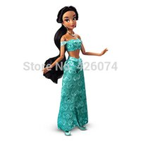 aladdin figures - New Original Fashion Classic Aladdin Jasmine Princess Figure Dolls For Girls quot CM Kids Toys Children Christmas Gifts