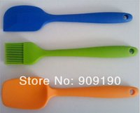 Wholesale sets COOKWARE BAKEWARE BAKING SILICONE COOKING WHISK BASTING PASTRY BRUSH SPATULA SPOON LENGTH CM