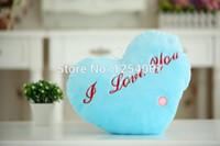led pillow - HOT Colorful LED luminous loving heart shaped LED light pillow pillow Christmas toys