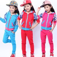 big accounting - Big boy girls spring sport suit in floral mosaic two sets accounted for a children s attention on behalf of Chun Lin