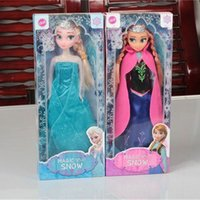Wholesale Frozen Princess CM Frozen Doll Frozen Elsa and Anna Frozen Toys Good Girl Gift Girl Doll Joint Moveable