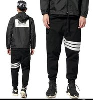 Cheap Autumn winter design skateboard 3M Reflective article screw thread Beam foot trousers Overalls