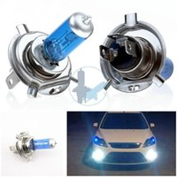 Wholesale New Car Light Source x H4 Xenon Halogen Lamp Auto HeadLight Bulb Kit V ZH284