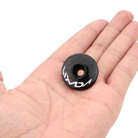 Wholesale LIXADA Full Carbon Fiber Handlebar Top Cap Bicycle Headset Top Cap Stem Cover MTB Bike Parts g