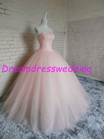 Wholesale Quinceanera Dresses Detachable With Chic Rhinestone Sweethert Ball Gown Birthday Party Gowns Red Gold Dresses Real Image
