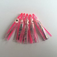 fish salt - Octopus lures squid fishing lures Colors soft skirt bait peaca lures inch salt or fresh water fishing tackle Customize