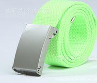 best webbing - Best price Fashion Unisex Plain Webbing Mens Boys Waist Belt Waistband Casual Canvas Belt