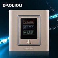 Wholesale BAOLIOU treasure Leo wall switch champagne limit discounts A5 Do Not Disturb switch