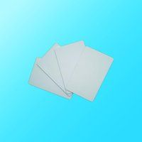 Wholesale Blank Printable PVC Plastic Photo id White Credit Card Mil CR80