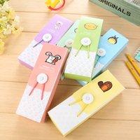 Wholesale Pieces School Supplies Pencil Cases pencilcase Papelaria Escolar Kawaii Pencil Cases Estuches School Girl Cosmetic Bag