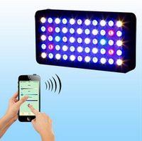 Wholesale 2015 w wifi led aquarium light WIFI controller can handle with IOS Android system best for tank coral