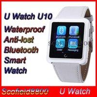 U10   Waterproof U10 U Watch U10 u8 Anti-lost Bluetooth Smart watch Dial Bracelet Watch for iPhone Samsung HTC LG Android cell Phone smartphone