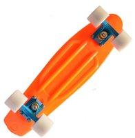 "Cheap Free Shipping Blank Custom 22"" Penny skateboard Mini Cruiser Nickel Skate board 2014Version Orange Blue White"
