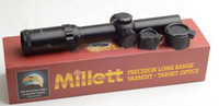 Wholesale Tactical Hunting Shooting Millett Illuminated x24 Dot mm Tube Rifle Scope