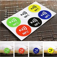 best phone stickers - 1 pc Best Quality Newest Waterproof NFC Tag Stickers Rfid Adhesive Label for Samsung iPhone plus All NFC Mobile Phone EC836