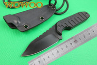Wholesale Made in China SCHRADE SCHF16 F16 Fixed Blade Neck knife CR13MOV Blade G10 Handle Reverse Tanto Hunting camping knife knives Kydex Sheath