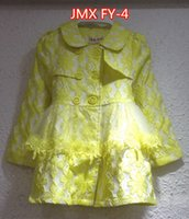 beautiful trench coat - JMX FY NEW fashion girl outwear with beautiful lace trench coat in four colors