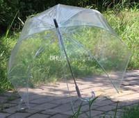 Wholesale 34 quot Big Clear Cute Bubble Deep Dome Umbrella Gossip Girl Wind Resistance