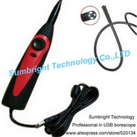 auto borescope - SB IE98AS mm New Arrival Mini USB Endoscope For Truck Snake Camera Professional Auto Diagnostic Tools Inspection Borescope