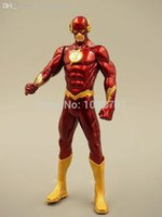 Wholesale The Flash Superhero Action Figure Model Collection Toy Barry Allen Toy PVC cm