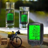 Wholesale Bicycle Cycling Computer LCD Odometer Waterproof Backlight Bike Cycle Speedometer