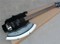 axe bass - 4 String SIMMONS Electric Bass with Axe Shape Body Open Pickups and Can be Customized as Request