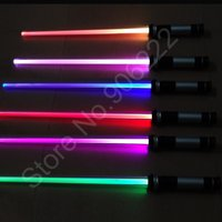 Wholesale Functional Star Wars Sword Toy Style Laser Lightsaber LED Toy Plastic Sword Cosplay Star Wars Lightsaber