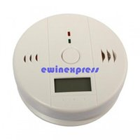 Wholesale Digital Carbon Monoxide CO Gas Warning Alarm Detector home security alarm security systems alarms Carbon Monoxide Alarm Detector