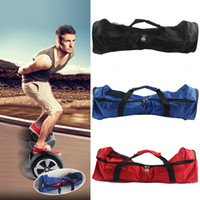 Wholesale Smart scooter inch bag balance two wheel electric car twisting knapsack Unicycle skates roller skate handbag