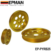 Wholesale EPMAN Aluminium Alloy Light Crank Engine Pulley Set for Nissan Skyline R32 R33 RB25DET GTS EP PYRB25